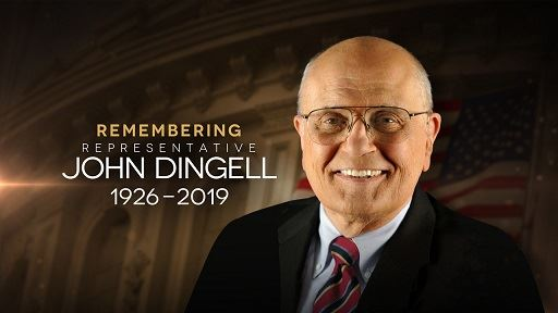REMEMBER JOHN DINGELL
