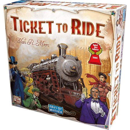 Box for board game Ticket to Ride
