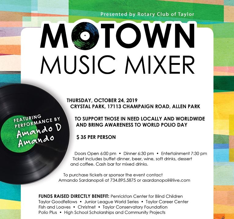 Taylor Rotary Motown Music Mixer 2019