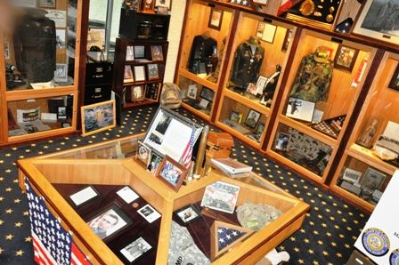 Taylor Veterans Museum Displays